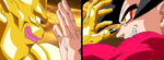 Nuova and Goku by Brinx-dragonball