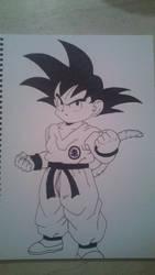Kid Goku by Brinx-dragonball
