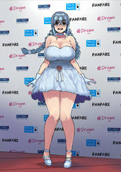 Inchou in red carpet by kaitsuart