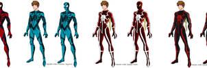 My Spider-Men by MaverickTears