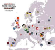Maps n Flags Members EUROPE by AY-Deezy