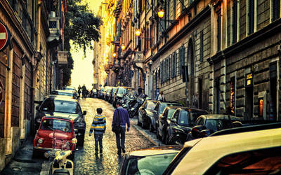 Tramonto a Roma by Sh000rty
