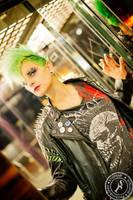 Punk Rock Chick by BlackSunRising