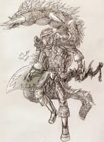 Olddel and Fluffy by Timelady-Saxon