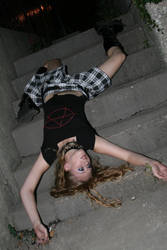 Dead on Stairs by Truly-Little-Alice