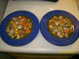 Pork and Hominy Stew by fenicksreborn