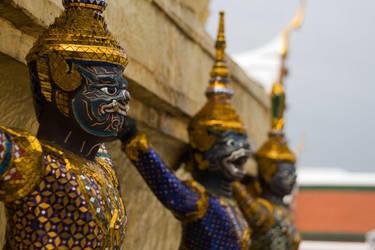 Wat Phra Kaew 3 by Gregos