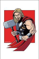 Thor by MikeLancetteArt