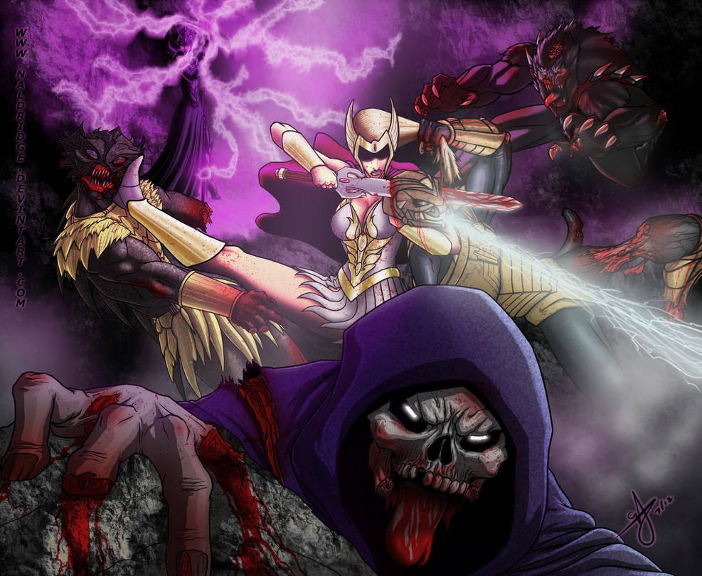 Gawdamn Zombies by naldridge