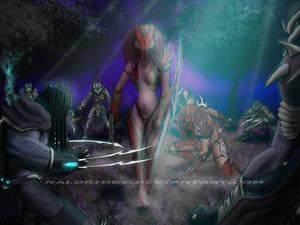 Death o.O with Breasts by naldridge