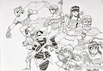 Inktober 2017 Day 29 United by OrionMagnus