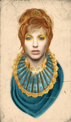 .::Viscountess Abena::. by Randoms-Foundling