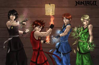 Ninjago Favourites By Djcinnccing On Deviantart