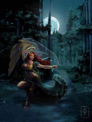 Midnight Dancer by saret