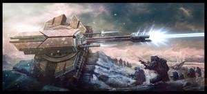 Tank Battle by bluwolf22