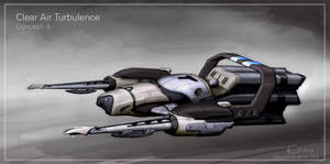 space ship concept by bluwolf22