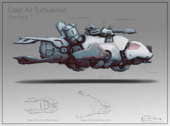 space ship concept 1 by bluwolf22