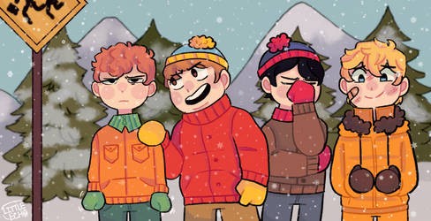 South Park  by LittleEchoArtist