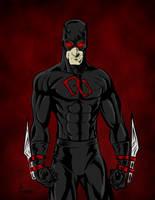 Shadowland Daredevil  by James by VPizarro626