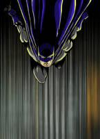 Batman Falls by DelHewittJr by VPizarro626