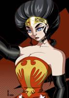 Victorian WonderWoman by Boo by VPizarro626