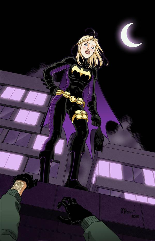 Badass Batgirl by Rick Mays by VPizarro626