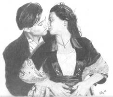 jack and rose, titanic by ebell1