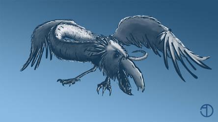 Bird Sketch LEVEL-UP for Sinix's Design Lab by Jackomack