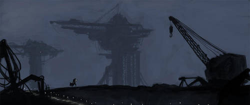 Alien 3 Study by Jackomack