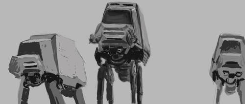 Battle of Hoth Study by Jackomack