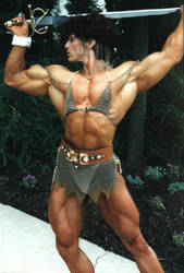 Warrioress Christa by Musclelicker