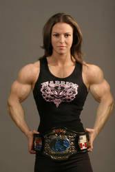 Muscular Wrestler by Musclelicker