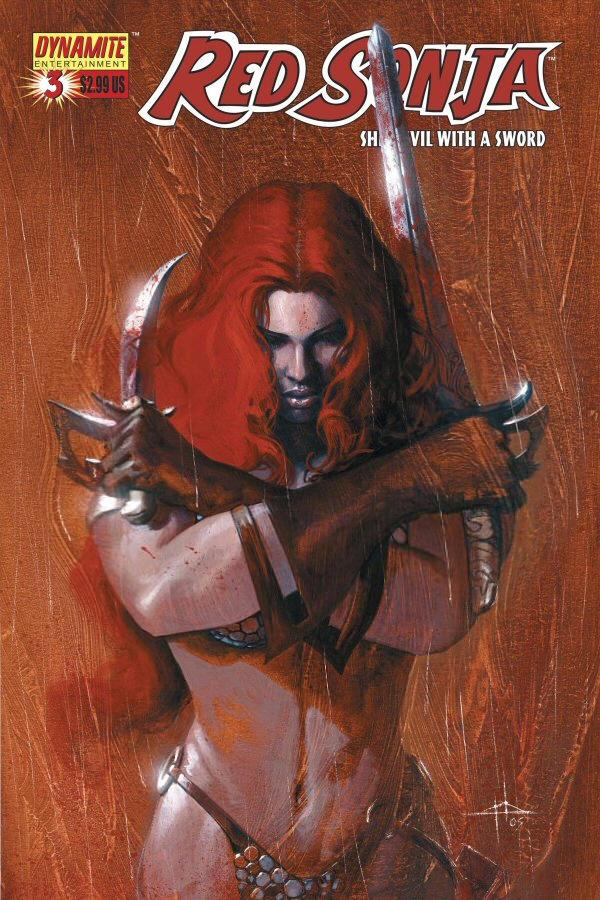 Red Sonja Prayer by Musclelicker