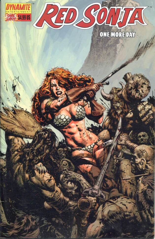 Red Sonja cover by LiamSharp by Musclelicker