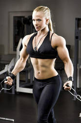 Sarah Backman 02 bloggym by Musclelicker