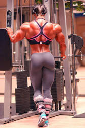 She Will Need More Weights by Musclelicker