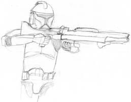 Clone Trooper by alias-kanas