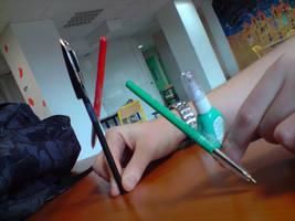 Star Wars pen by alias-kanas