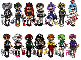 (OPEN) Creepy pasta adopts by ashulikesanimu