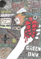Green Day American Idiot by gateway-to-hell