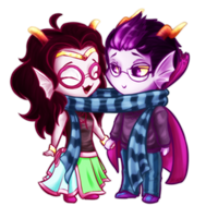 HS - Scarffies by AlysSaphire