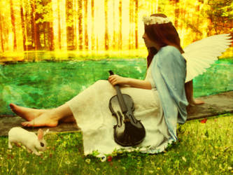 Forest Angel by phantomflamz