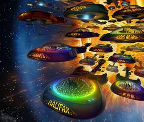 Guitar Space Ark Exodus by superNow