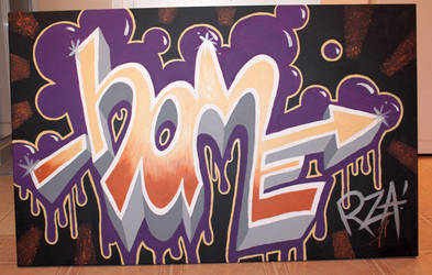Home Graffiti for my Momma Bear by springloaded