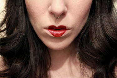 Valentines lips and a deviated septum by springloaded