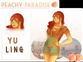 Peach Paradise- Yu Ling by Shikuwasa
