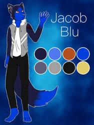 Jacob Blu-Ref sheet by Pinkwolfly