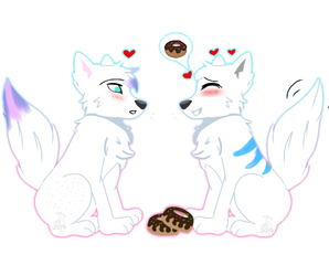 Doughnuts by Pinkwolfly