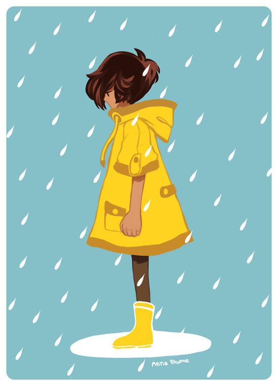 Rain Boy by VulpesLunaris