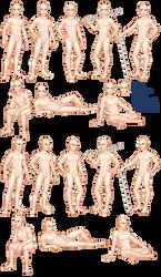Male Base Set- Jaris by lithriel